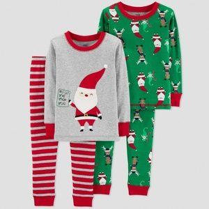 Carter's Just One You Baby 4pc Pajamas PJ Set